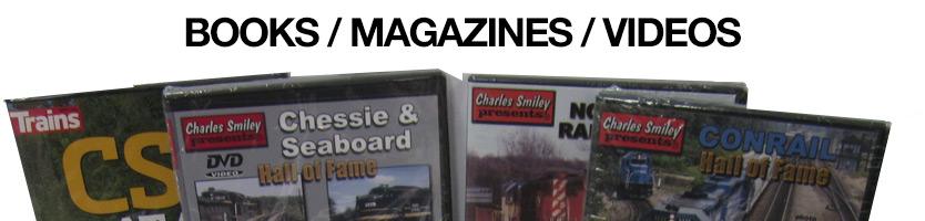 Books Magazines Videos