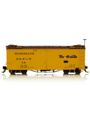 BLCK-B340810 30' REEFER D&RGW