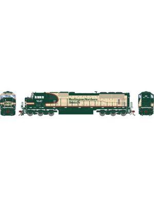 141-G64914 BNSF SD70MAC