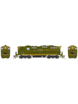 141-G78271 CV GREEN/GOLD GP9 WITH DCC & SOUND